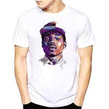 Hombres bendiciones camiseta Chance el Rapper Hip Hop colorante ácido Rap  10 días O cuello corto manga larga Camiseta s-xxxl f4e3bb86362