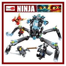 74Ninja Movie Model anime action figures Building Blocks Bricks Toys children gifts Compatible Water Strider - Bruce's Toy Store store