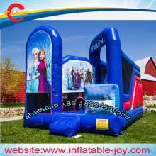 free air shipping to door,5*4m kids  princess inflatable jumper  bouncer with slide,inflatable combos