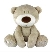 High-quality baby Lovely bear toys stuffed dolls cute animal plush education toys for children Gift(China)