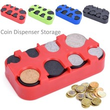 Buy Russian Ruble Coin Dispenser Plastic Storage Box Coin Collection Purse Wallet Organizer Holder Bus Taxi Car Coin Changer Holder for $1.86 in AliExpress store