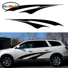HotMeiNi 2 X Abstract Autumn Leaves Falling Cheerful Mobile Car Sticker for For SUV Trailer Truck Kayak Vinyl Decal 10 Color(China)