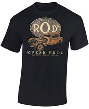 New Cotton Fashion Brand Hip Hop Brand New Tops Ratty Rods Oval Hot Rod Rat Rod Vintage Race Car Speed Shop customs T Shirt Tees(China)