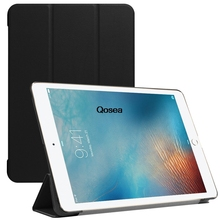 "Qosea 2017 New For Apple i Pad Pro 10.5 inch Luxury PU Leather Smart Stand Case For Apple i Pad Pro 10.5""Tablet PC Stand Cover"