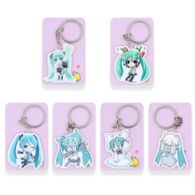 Buy Hatsune Miku Keychain 6 Styles Game Key Chains Hot Sale Custom made Anime Key Ring PSS85-90 for $1.00 in AliExpress store