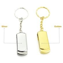 High speed flash disk 32gb silver metal USB Flash Drive PenDrive 4gb 8gb 16gb 64gb 128gb Flash Drive Memory Stick Pendrive(China)