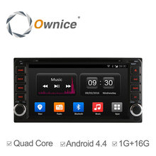 Ownice Android 4.4 2 din Car DVD Radio GPS Navi For Toyota Hilux VIOS Old Camry Corolla Prado RAV4 Prado 2003-2008 support dab+(China)