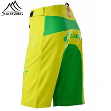 Saenshing Cube shorts men Downhill mountain bike shorts Rock Racing bicycle mtb shorts breathable bermuda ciclismo hombre(China)