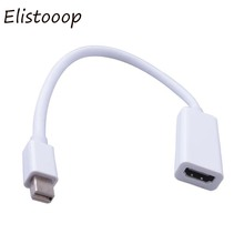 24 cm Mini DisplayPort Display Port DP to HDMI Adapter Cable For Apple Mac Macbook Pro Air whole sale(China)
