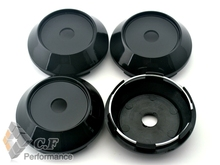 Rhino Tuning 4PC 68mm Auto Accessories Black Car Styling Wheel Center Centre Caps Hubs Caps Emblem # 466