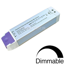 (10pcs/lot) 30~55W Aluminium Housing Triac dimming constant current 49W 43-70V 700mA dimmable led driver power supply