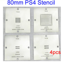 80mm PS4 Stencil for BGA Reballing CXD90025G CXD90026G K4G41325FC GDDR5 RAM K4B2G1646E DDR3 SDRAM(China)