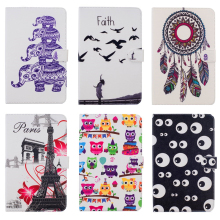 Buy Apple ipad Air 2 II 9.7'' Flip PU Leather Tablet Case Cover New ipad 6 Cover Butterfly Owl Eiffel Tower elephone for $9.97 in AliExpress store