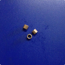 4*6*5mm  Copper base powder metallurgical parts Powder Metallurgy oil bushing  porous bearing  Sintered copper sleeve