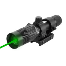 FireWolf Tactical 5mW Green Laser Sight Adjustable Green Laser Designator Hunting Laser Sight With 21mm Rail