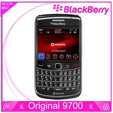 9700 original phone blackberry 9700 3G WIFI Bluetooth GPS phone unlocked free shipping(China)