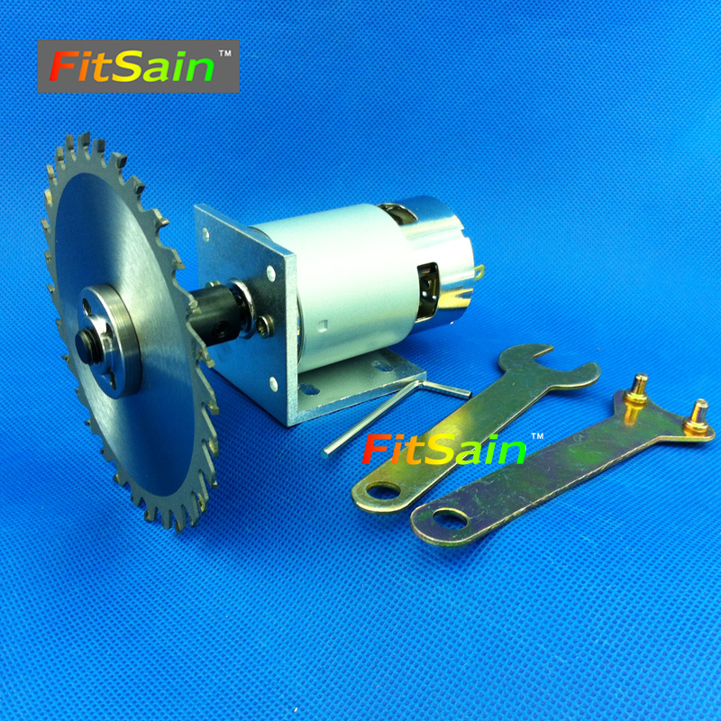 FitSain-775 motor DC24V 8000RPM Center hole 16mm 20mm circular saw blade for wood cutting disc mini table electric saw sawing<br>
