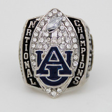 New NCAA 2010 Auburn Tigers Football National Championship Starting Player's Ring, Custom Championship Ring