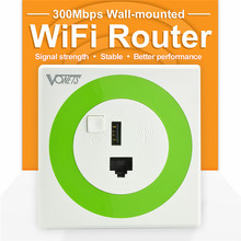 VONETS Wireless WiFi-Room 300Mbps In Wall  WiFi Router Repeater wi-fi  Bridge with USB Charging port for Hotel Home Rooms
