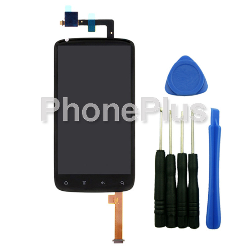 For HTC G14 z710e Sensation Touch Screen Panel Digitizer Glass LCD Display Assembly With Tools<br><br>Aliexpress
