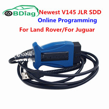 Top Quality JLR SDD V145 OBD2 Scanner Support Multi-languages V145 JLR Cable For Land Rover/For Juguar Up To 2016 Year JLR VCM