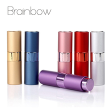 Brainbow 1 piece 15ml Scalable Bottle Mini Portable Travel Refillable Perfume Atomizer Bottle For Spray Scent Pump Case Empty(China)