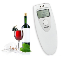 Dewtreetali LCD Alcohol Tester Portable Police Digital Alcohol Detector Breathalyzer Breath Analyzer alcohol Tester(China)