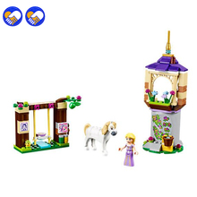 A toy A dream BELA 10564 Rapunzel's Best Day Ever Building Blocks Classic For Girl Kids Model Toys Marvel Compatible Lepin