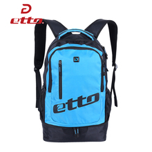 Etto New Soccer Team Training Backpack Boys Outdoor Bags for Sports Uniforms and Shoes Waterproof Nylon Girl's Travel Bag HAB070(China)