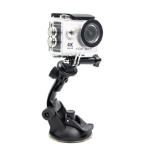 Buy Car Suction Cup Adapter Window Glass Mount Holder Tripod Gopro Session Hero 5/4 SJ4000 Xiaomi Yi 4k Sport Camera Accessories for $2.91 in AliExpress store