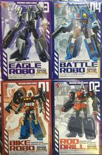 Action Toys Machine Robo Revenge of Cronos 01-04 4pcs figure,In stock!