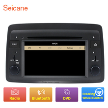 Seicane for 2004 2005 2006 2007 2008 2009 2010 2011 2012 Fiat Panda DVD player with GPS navigation Radio Bluetooth Ipod(China)