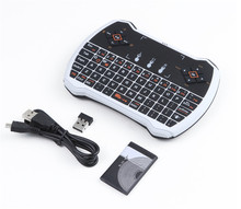 2.4Ghz V6 Wireless Keyboard Built-in lithium-ion battery i9 Gaming fly Air Mouse remote control for Android tv box Smart tv PC