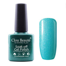 Customized Clou Beaute 40529 Soak Off UV Top Coat Nail Honey Girl Gel Polish Lacquer Nail Gel