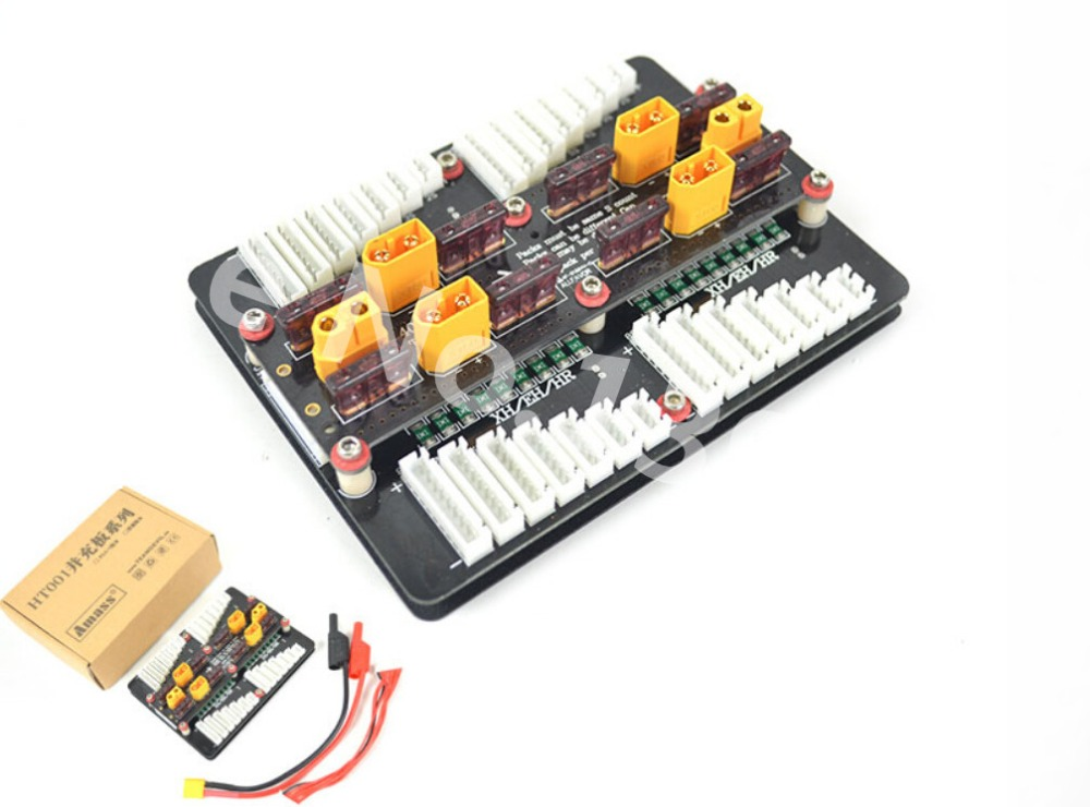 New XT60 Li-po Battery Charging Adaptor Board PL8 PL6 MPA For 2-8S PL6/0720I/1420I/X6/B6 Charger<br>