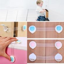 2016 Bear Baby Child Kids Safety Lock Care Cabinet Drawer Cupboard Refrigerator Toilet Door Closet Plastic Locks Latch Clip(China)