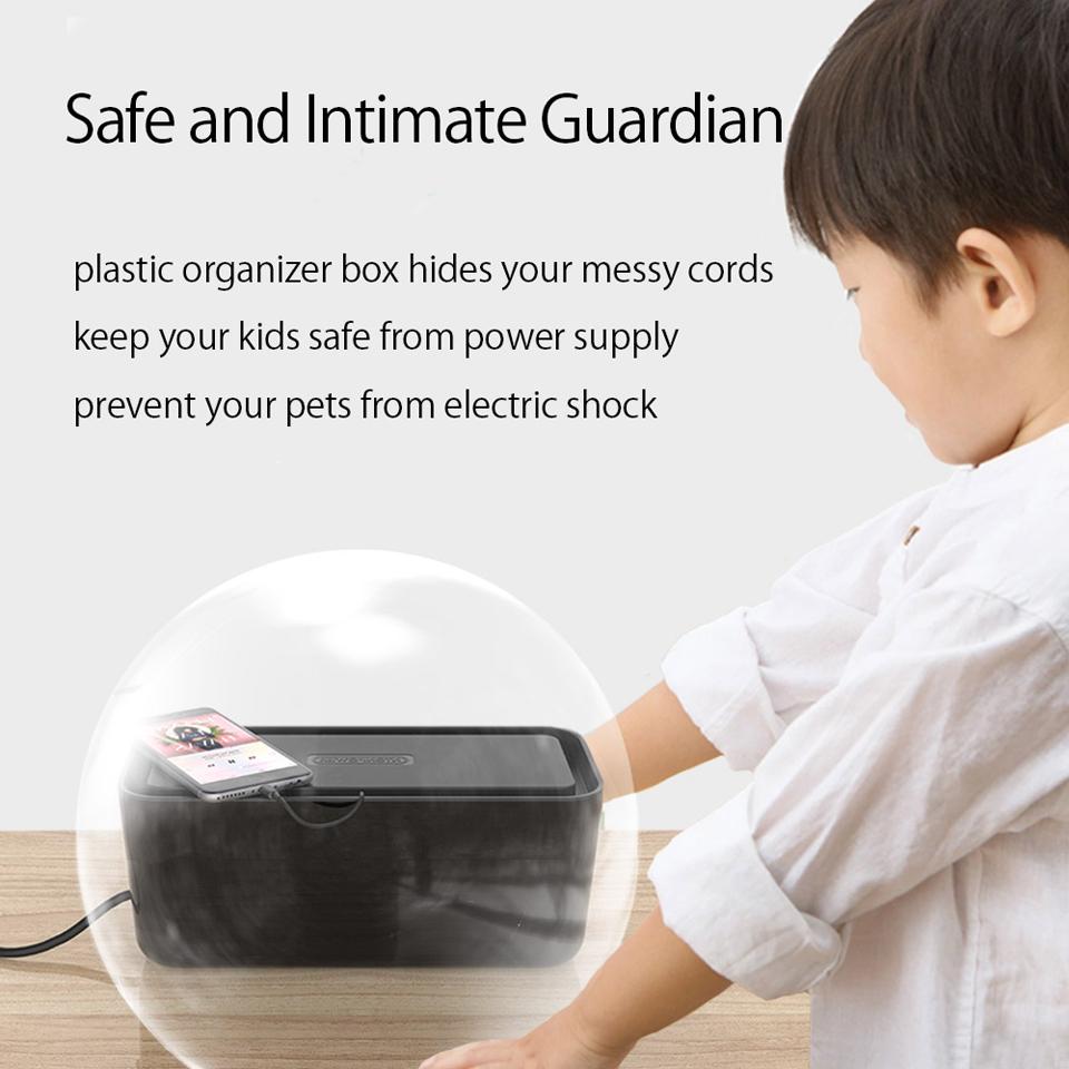 NTONPOWR RMB Hard Plastic Power Strip Storage Box (10)