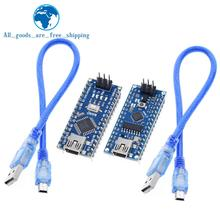 TZT 10pcs Nano 3.0 controller compatible for arduino nano CH340 USB driver with