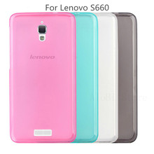 Newest Soft TPU Case For Lenovo S660 Ultra Thin Cell Phone Cover For Lenovo s 660 With Clear TPU Case For lenovo S660