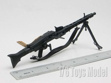"1:6 Scale Toy Gun Weapons DRAGON WWII German MG42 Machine Gun Model Cosplay Guns Gift Collection Fit 12"" Action Figure(China)"