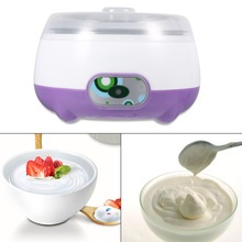 Original Multifunction Electric Automatic Yogurt Maker Machine Household Stainless Steel Liner 1L Capacity Yoghurt DIY Tool(China)