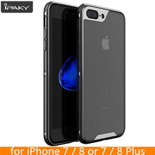 For iPhone 8 8 Plus Case Original iPaky Brand Electroplated Bumper TPU Hybrid Shockproof Cover for iPhone 7 7 Plus Case(China)