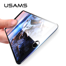 2PCS/LOT USAMS For iPhone 6 Tempered Glass 0.3mm 9H Carbon Fiber 3D Glass for iPhone 6s 7 Plus Screen Protector Protective Film