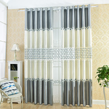 European - style low - cost water - soluble embroidered shade curtains highlight the luxury living room bedroom balcony curtains(China)