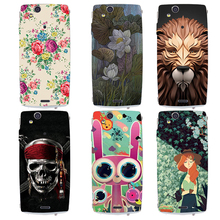 Fashional printed phone case cover for Sony Xperia Ericsson X12 LT15i/Xperia Arc S LT18i colorful Hard plastic painting cover