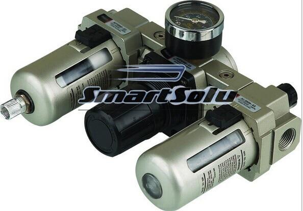 SMC Series F.R.L Combination;SMC AC3000-03 Type;3/8 Port Size;High Quality SMC Filter Regulator Lubricator Combination<br>