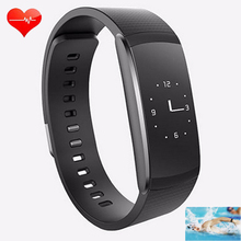 Thin Swimming Smart Wristband Gesture 24H Heart Rate Monitor Facebook Push PK For IOS Charge 2/Android/Xiaomi miband 2 Not