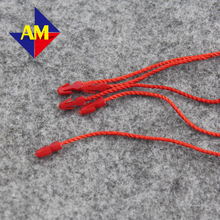 Free Shipping Wholesale/retailed  27cm seal lock cords for clothing hang Tag with blank/ string buckle/string seal/tag ropes