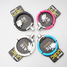 High Qulity Ring shape bicycle lock Bike security cable lock Mountain Bicycle Anti-theft Lock 4 Colors