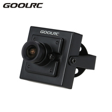 "GOOLRC 1/3"" 700TVL 3.6mm Mini CCD Camera NTSC for CCTV Security Video FPV Color RC Drone Camera Aerial Photography Multicopter(China)"